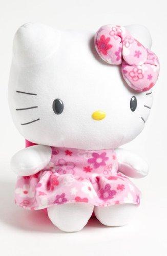 18 Inch Hello Kitty Flowers - Hello Kitty 18-in.plush: Flower Pattern