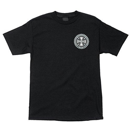Independent Mens Precision Regular Short Sleeve Shirt X Large Black