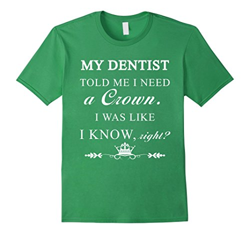 Men's Dentist - My dentist told me I need a crown. I was ...