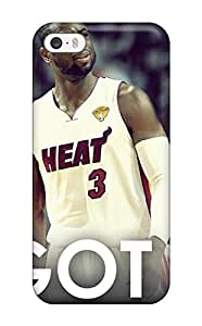 New Style nba lebron james beat dwyane wade chris bosh miami heat NBA Sports & Colleges colorful iPhone 5/5s cases