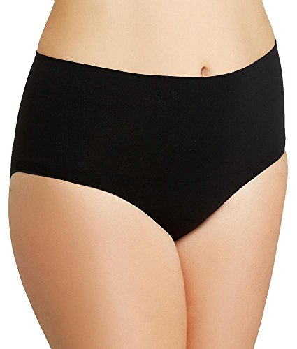 SPANX Plus Size Everyday Shaping Brief, 1X, Black
