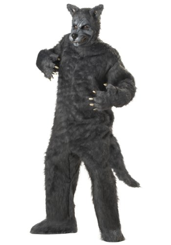 Plus Big Bad Wolf Costume - PL -