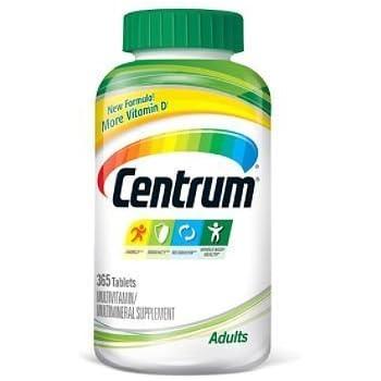 Centrum Multivitamin Tablets, 365-Count Bottle