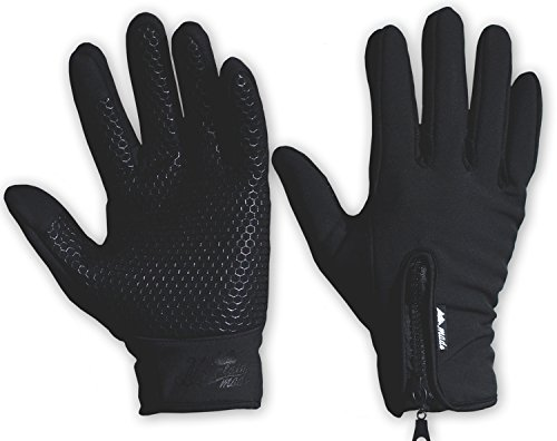 Price comparison product image Mountain Made Outdoor Gloves for Men & Women, Black, X-Large