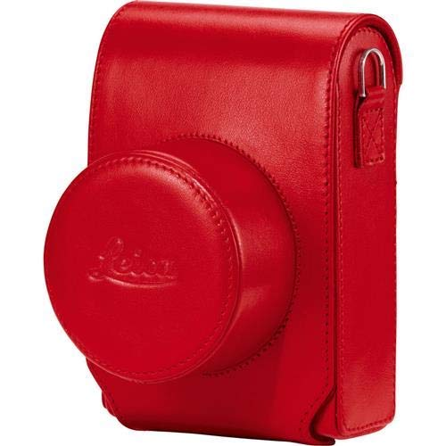 Leica Case with Carrying Strap for D-Lux 7 Compact Camera, Red