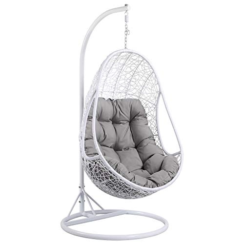 Yaheetech Hanging Rattan Swing Egg Chair