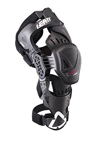 Mens Mx Pro Frame - Leatt C-Frame Pro Carbon MX ATV Offroad Knee Braces - Left and Right 2XL 58-64 CM