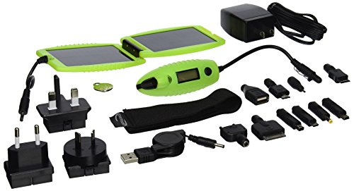 Powertraveller Powermonkey Explorer Solar Portable Charger, Luminous by Powertraveller