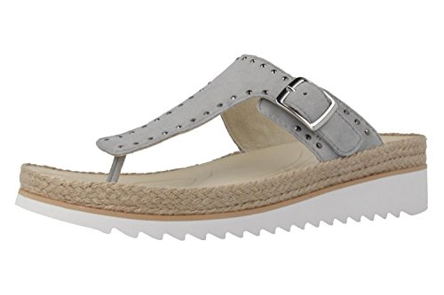 GABOR - Damen Zehentrenner - Grau Schuhe in Übergrößen