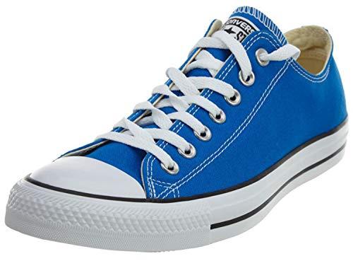 Converse Chuck Taylor All Star Seasonal Colors Ox, Solar Blue, Men's 4, Women's 6 Medium