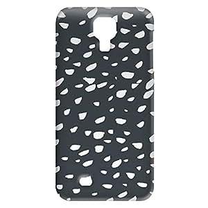 Loud Universe Samsung Galaxy S4 Confetti Print 3D Wrap Around Case - Black/White