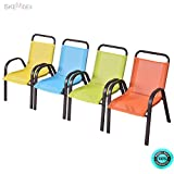 Cheap SKEMiDEX 5 Piece Kids Table And Chair Set Junior Furniture Dining Playing Learning Brand new & Sturdy engineered steel construction adds its stability and more safely Fiber chair seat.