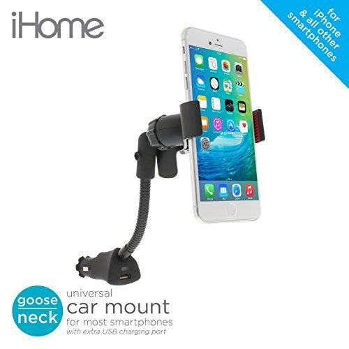 iHome Mount for Universal//Smartphones Black