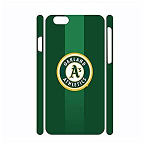 Artistical Handmade Hard Plastic Baseball Team Logo Designer Print Phone Accessories for Iphone 6 Case - 4.7 Inch