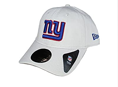 New York Giants New Era Adjustable One Size Fits Most Hat Cap - Tan by New Era Cap Company, Inc.