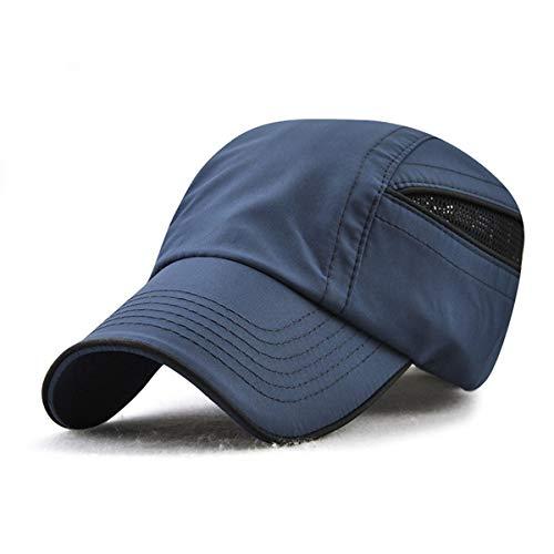 Hombres Sombrero Sombrero Secado Gorra protección al de para rápido GLLH E D hat para Sombreros para Deportes béisbol Sol Aire qin de Solar de Libre EIqx80