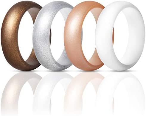 ThunderFit Silicone Rings Wedding Bands