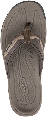 Olive Antique Men's Kona Flat Flip m KEEN Sandal Bronze Dark 8gwa0gq