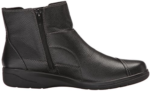 Leather Cheyn Women's Black CLARKS Work Ankle Bootie qF885YB