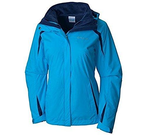 Columbia Women's Plus-Size Blazing Star Interchange Jacket, Atoll/Nocturnal, 2X