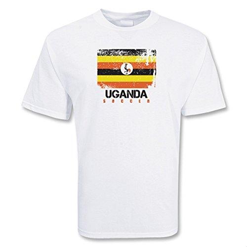 Uganda Soccer T-shirt B0787XFP4WSmall (34-36\