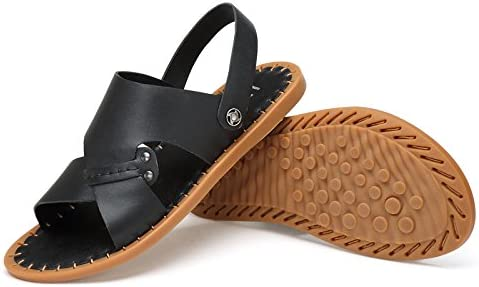 Abby QZYYU-TZ2021 Mens Casual Fresh Comfy Slippers Lightweight Breathable Flat Sole Backstrap Beach Sandals Original Slide Shoes Open Toe Slingback