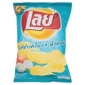 Lay#039s Sour Cream amp Onion Flavored Potato Chips 77g
