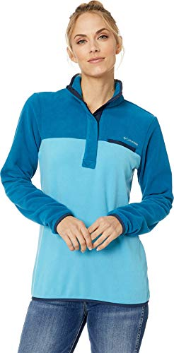 - Columbia Mountain Side Pull Over, Large, Beta/Lagoon