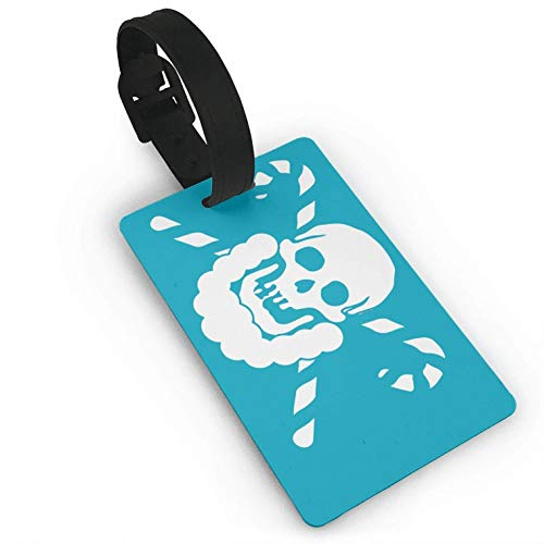 Skeleton Candy Luggage Tag Holders Travel ID Bags Labels Baggage Suitcases Name Privacy]()