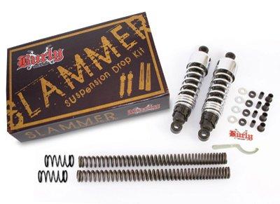 BURLY B28-1003 Chrome Finish Slammer Kit ()