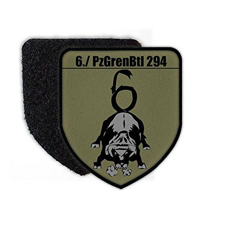 6 PzGrenBtl 294 Tarn tank Grenadier Battalion Bundeswehr Badge AGA Time Coat of Arms Uniform - Patch/Patches