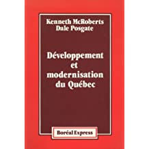 Développement et modernisation du Québec