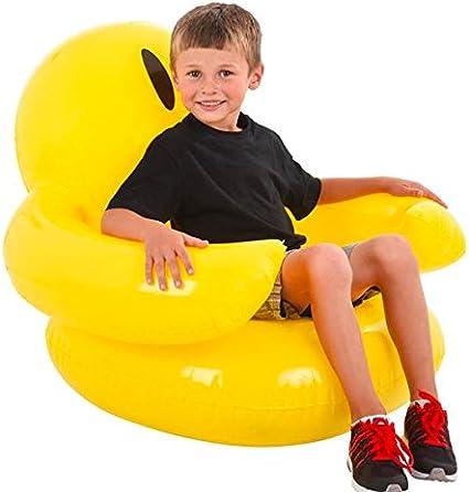 Amazon.com: Hinchable sonrisa silla accesorio de fiesta ...