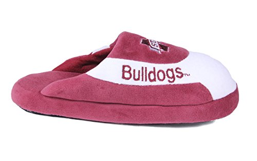 LICENSED Slippers State Bulldogs Feet NCAA Mississippi Happy and Mens College Pro Low OFFICIALLY Womens BwBvTXq