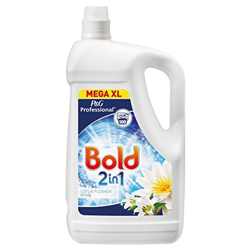 ( 5Ltr Pack ) Bold Professional Washing Liquid Lotus Flower & Lily 5L 100 Washes
