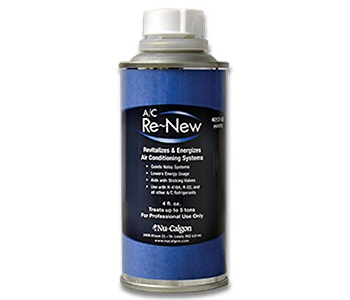 Nu-Calgon 4057-55 A/C Renew 4oz Unpressurized Can Install with the A/C Re~New Injector (NOT INCLUDED)