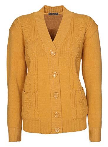 10 NEUF DAMES torsad cardigan CLASSIQUE Tailles 20 DE tricot FEMMES wYEw4ra