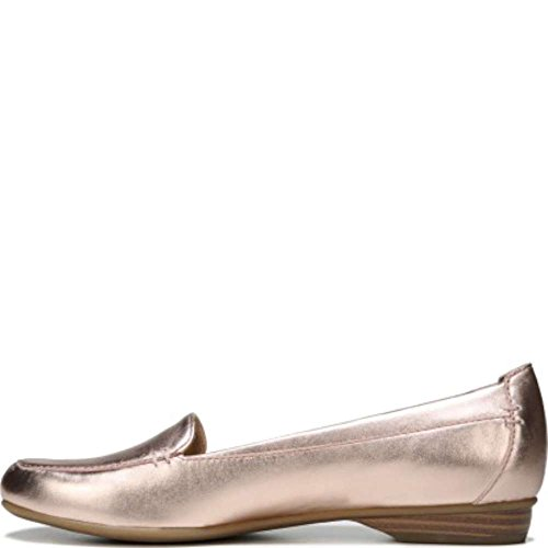 Naturalizer Womens Saban Leather Closed Toe Loafers, Pink, Size 7.0