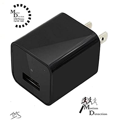 SpyGear-Hidden Camera Charger by Seekit Cam   1080p 32GB Spy Camera / USB Charger featuring Motion Detection operating system   Records up to 8 Hours of video - SeekIt USA