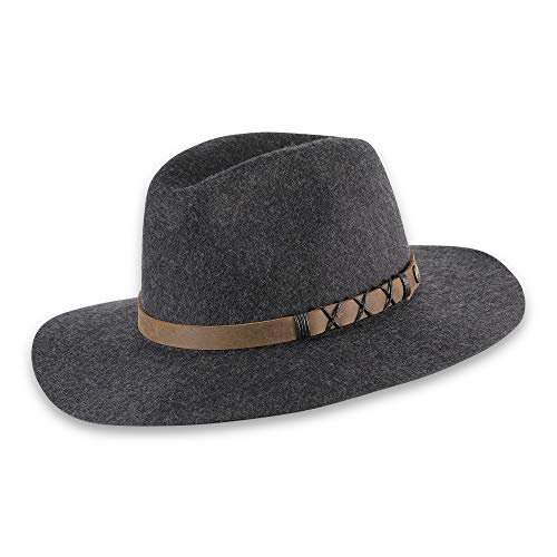 pistil Women's Soho Felt Hat, Charcoal, One Size (Urban Outfitters Leather Jacket)