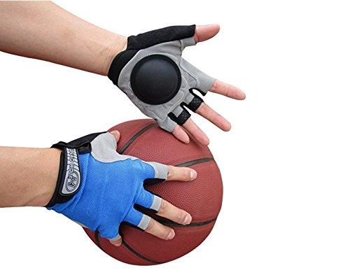 Borang Basketball Dribble Gloves Finger Training Anti Grip Basketball Gloves for Youth Adults, Enhanced Finger Control Ball Ability, Basketball Training Aids, Finger Strengthener