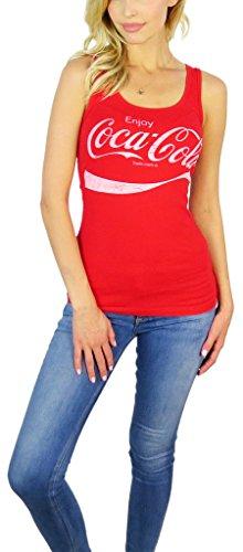 [Coca Cola Womens Tank Top Medium Red] (Coca Cola Dress)