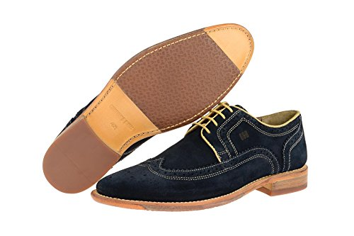 Gordon & Bros S160751 Herren Businessschuhe Marine