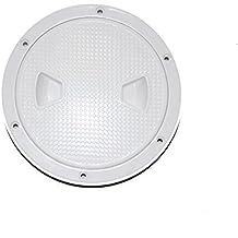 X-Haibei Round Boat Marine Inspection Hatch Deck Plate Access RV Plastic White