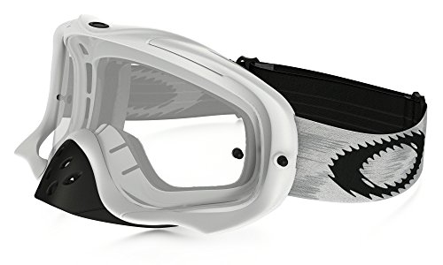 Oakley Crowbar MX Goggles Matte White Speed with Clear for sale  Delivered anywhere in Canada