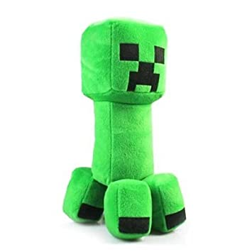 Teacity Minecraft Creeper Peluche Cojín verde 30 cm