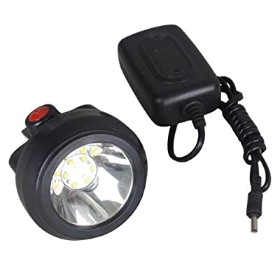 Kohree Waterproof & Explosion Proof 6 LED 3.7v Miner Light LED Headlight for Hunting&camping&mining