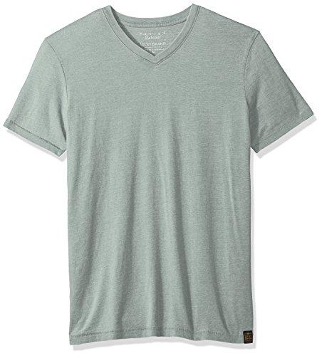Lucky Brand Men's Venice Burnout V-Neck Tee Shirt, Laurel Wreath, XL by Lucky Brand (Image #1)