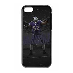 Baltimore Ravens iPhone 5c Cell Phone Case Black 218y3-192192