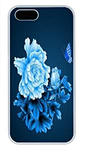 Good Looking Porcelain - Butterfly Flower Cited - Newest Version For SamSung Galaxy S4 Phone Case Cover White Pc Case